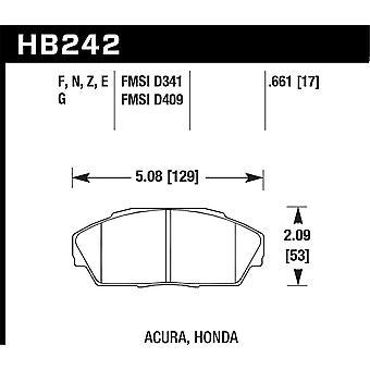Hawk prestaties HB242F. 661 HPS