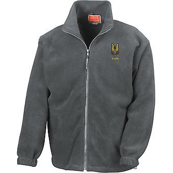 SAS Special Air Service D Sqn - Licensed British Army Embroidered Heavyweight Fleece Jacket