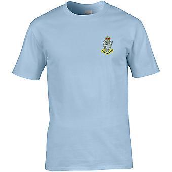 Royal Irish Rangers kleur-gelicentieerd Britse leger geborduurd premie T-shirt