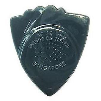 6 Awe-In-One Rock Licks Guitar Picks/Plectrums - Nylon - Dark Tone - Dark Blue 1.00mm-1.4mm