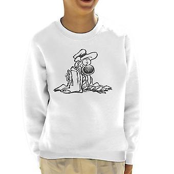 Grimmy Dressed Up Smart Kid's Sweatshirt