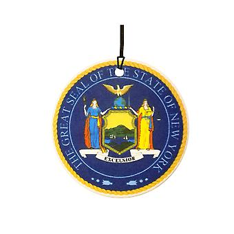 Seal Of New York Car Air Freshener