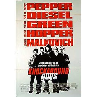 Knockaround guys (yksipuolinen tavallinen) alkuperäinen elokuva-juliste