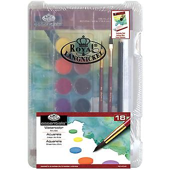 Clearview Mini Art Set-Watercolor Art 18pc RSETART8