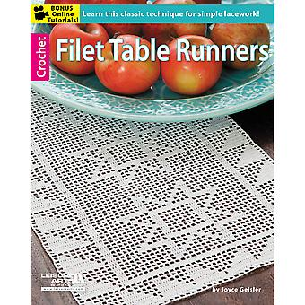 Leisure Arts Filet Table Runners La 5661