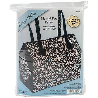 Night & Day Purse Plastic Canvas Kit 12
