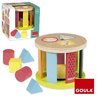 Diset Drum geometric shapes (Toys , Preschool , Puzzles And Blocs)