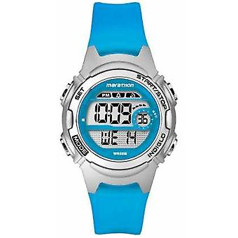 Timex Childrens Marathon Alarm Chronograph Blue TW5K96900 Watch