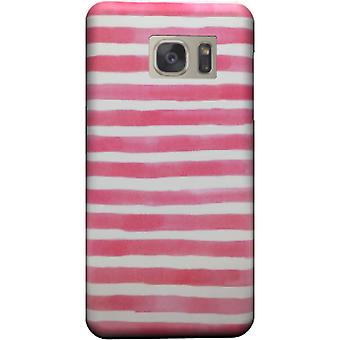 Cover Pink watercolor stipes to Galaxy Note 5