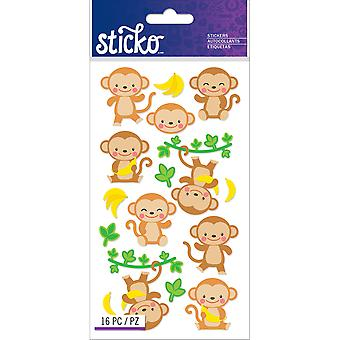 Sticko Stickers-Dancing Monkeys E5201277