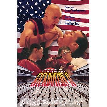 American Shaolin rei dos Kickboxers filme Poster (11 x 17)