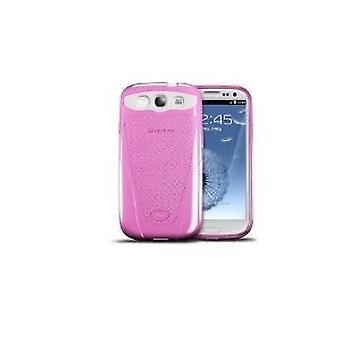 iSkin Vibes Galaxy soft, flexible Protective Case for Samsung Galaxy S3 - (Cosmic) Pink