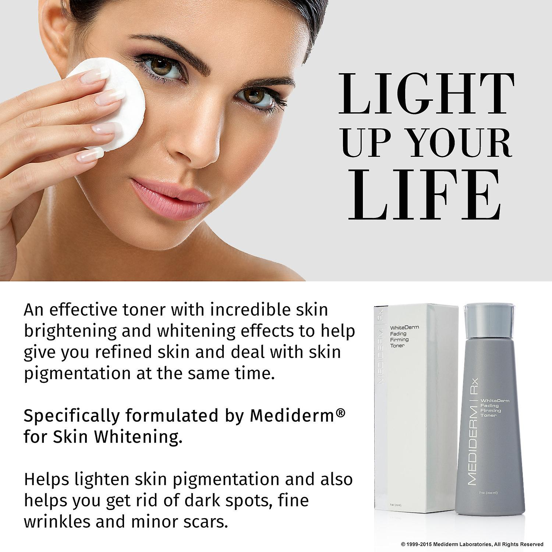 MediDerm WhiteDerm Gesichts-Straffung Haut Toner - reinigt Haut & Fades dunkle Flecken