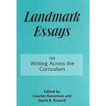 Landmark Essays On Writing Across The Cu by Bazerman Charles Russell David R.