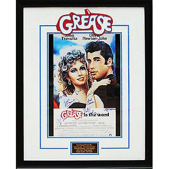 Grease - Signed Movie Poster