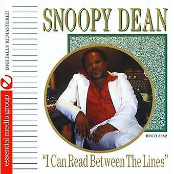 Snoopy Dean - I Can Read Between the Lines [CD] USA import