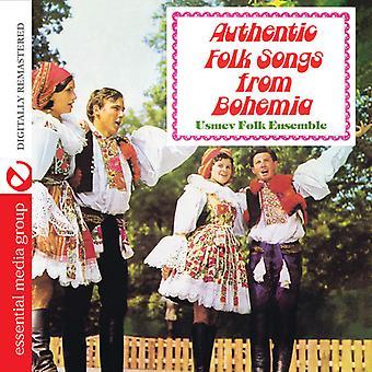 Usmev Folk Ensemble - authentieke Folk Songs uit Bohemen [CD] USA import
