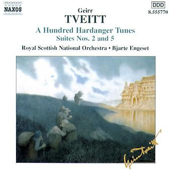 G. Tveitt - Tveitt: A hundra Hardanger Tunes, sviter nr 2 & 5 [CD] USA import