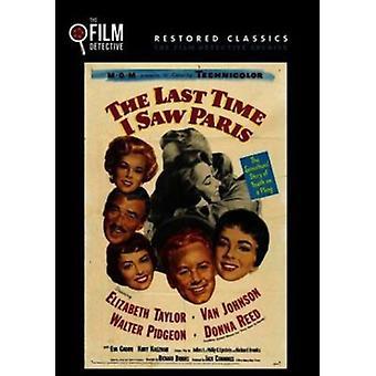 Last Time I Saw Paris [DVD] USA import