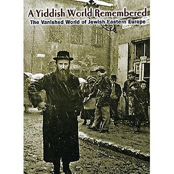 Jiddisch världen mindes [DVD] USA import
