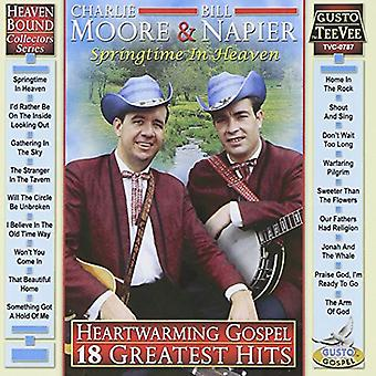 Moore, Charlie / Napier, Bill - Heartwarming evangeliet: 18 Greatest Hits CD] USA import