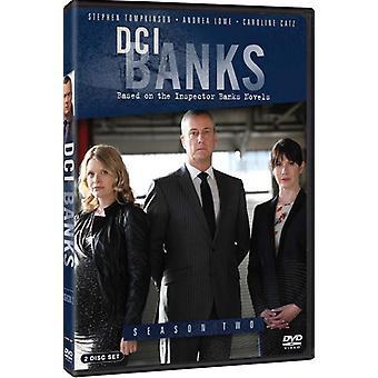 DCI Banks: Säsong två [DVD] USA import