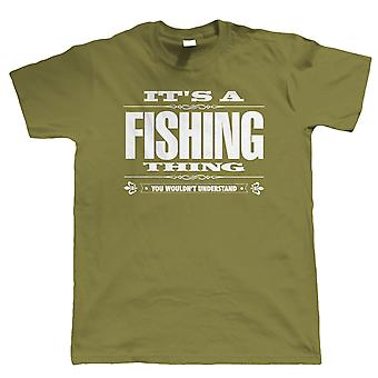 Vectorbomb, It's A Fishing Thing Mens Funny T Shirt