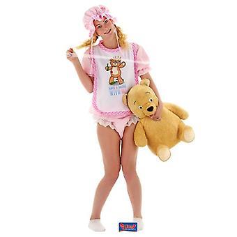 Babykostüm Damen rosa Baby Säugling Kostüm JGA Einheitsgröße