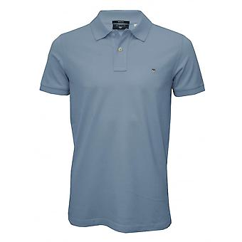 Gant Solid Pique Polo Shirt, Capri Blue