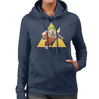 My Little Link Legend of Zelda Equestrian Girls Women's Hooded Sweatshirt