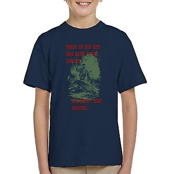 Most Of My Life Has Been Fishing Kid's T-Shirt