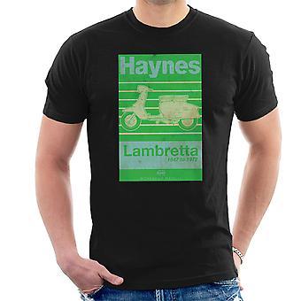 Haynes eiere Workshop manuell Lambretta 47 til 72 Distressed menn t-skjorte