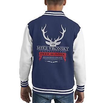 Mike Varsity Jacket Vronsky Deer Hunter niños