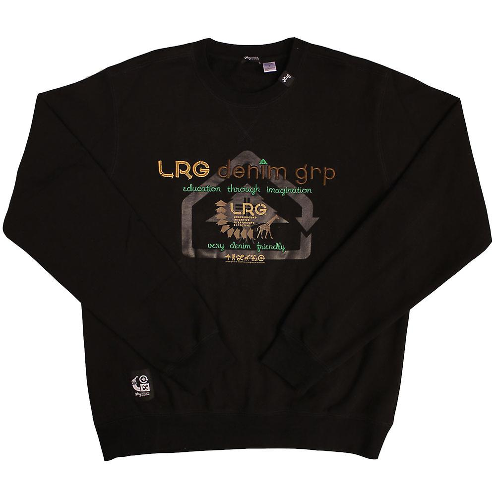 Lrg Very Denim Friendly Sweatshirt Black