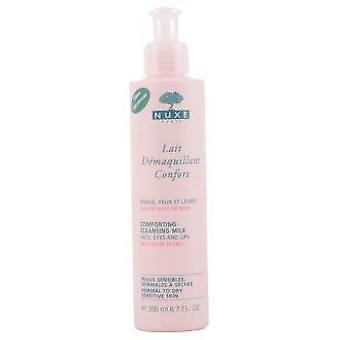 Nuxe Rose Petals Démaquillant Lait Confort 200 ml