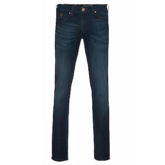 Wrangler Greensboro trousers mens jeans blue W15Q-77-77Z