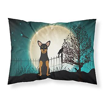 Halloween gruselig Manchester Terrier Stoff Standard Kissenbezug