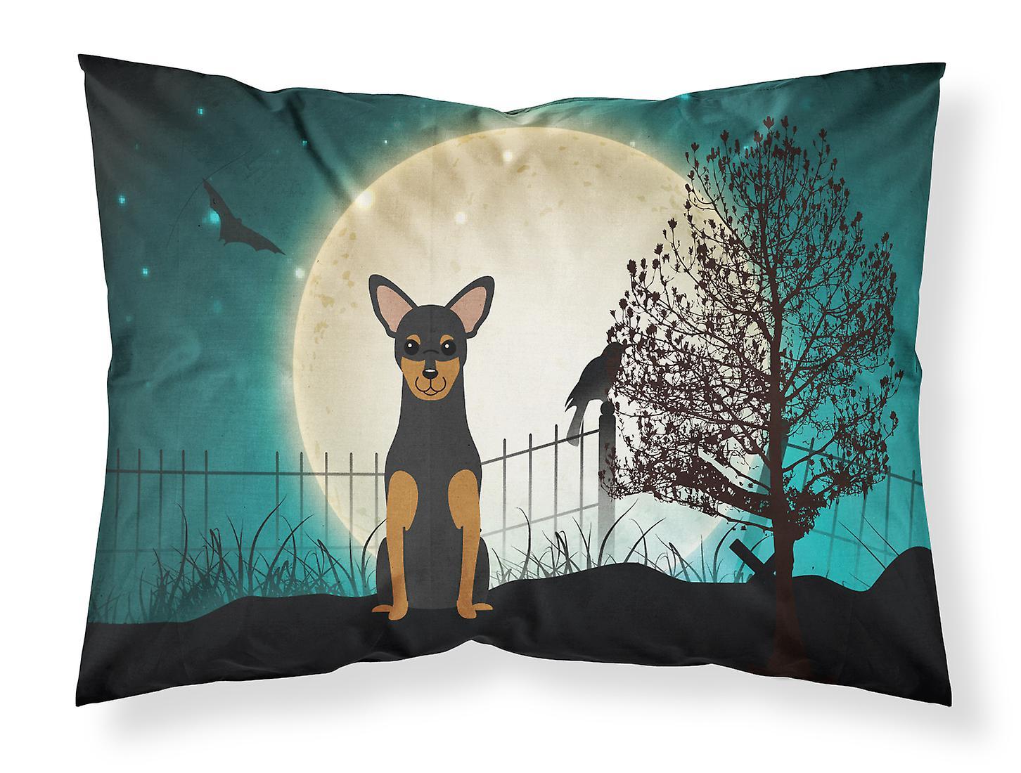 Terrier Standard Effrayant De Halloween Taie Manchester Tissu D'oreiller TFcl13KJ