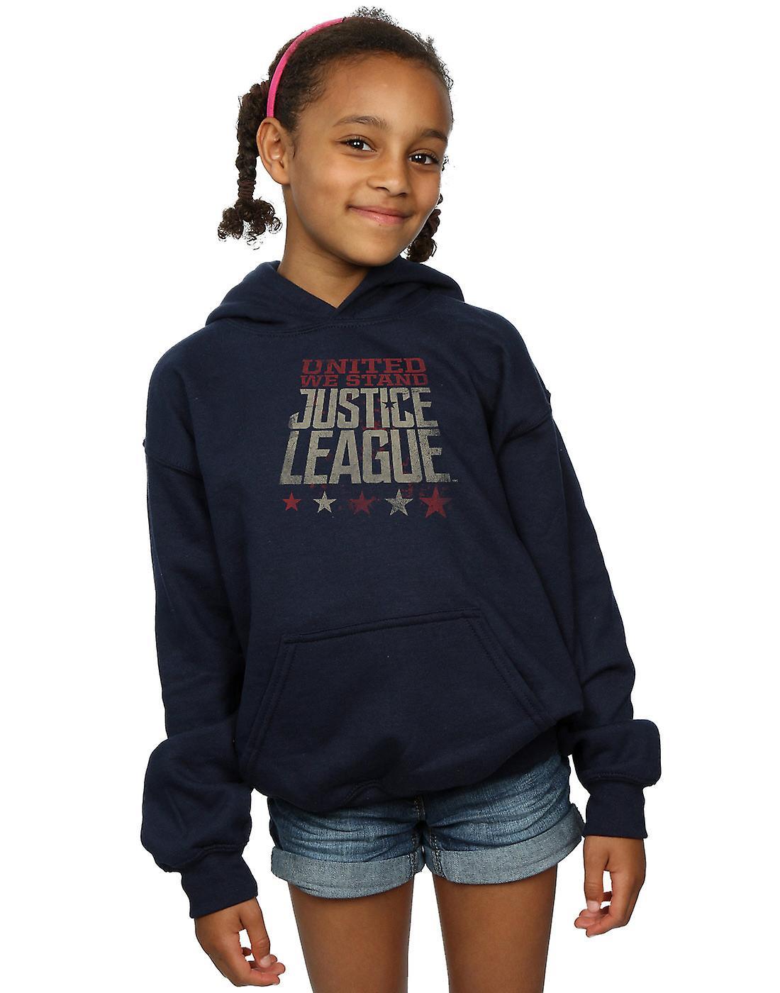 DC Comics filles Justice League film Uni We Stand Hoodie