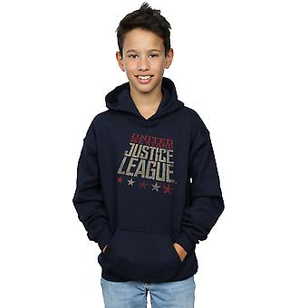 DC Comics Boys Justice League Movie United We Stand Hoodie