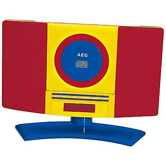 AEG HiFi system CD/MP3 MC 4464 Kids Line