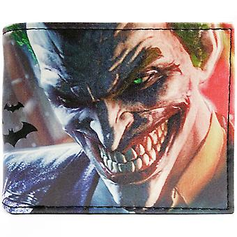 DC Comics Batman Joker ID & Card Bi-Fold Wallet