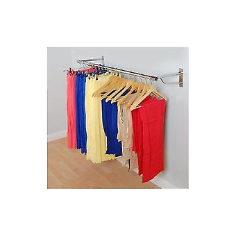 Wall Mounted Clothes Hanging Rail - 1220mm