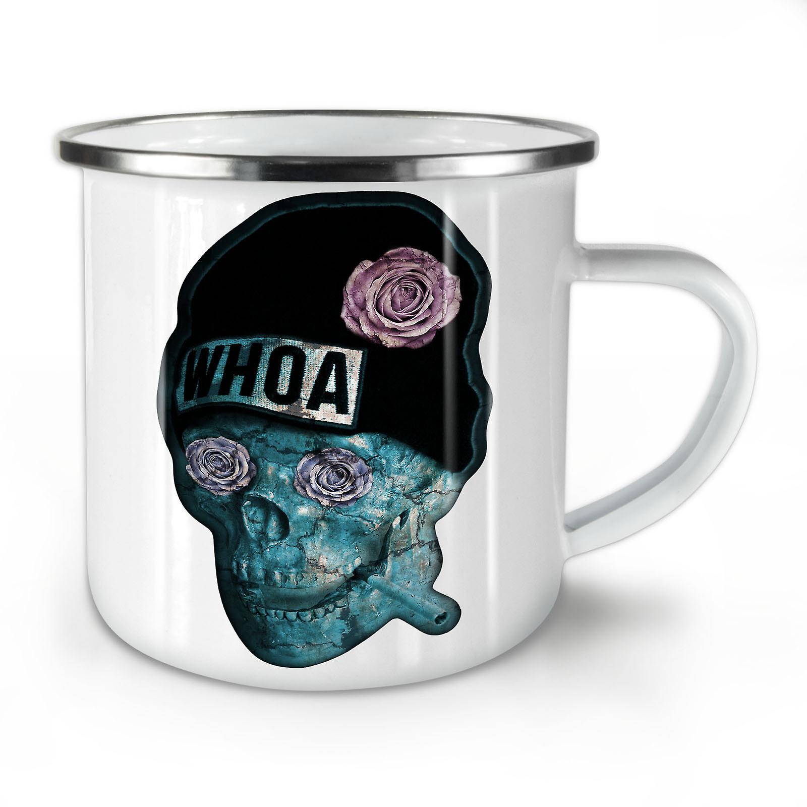 Coffee Enamel Mug10 New OzWellcoda Skeleton Whitetea Whoa dBtoQrCshx