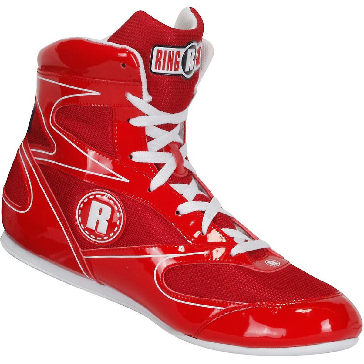 Am Ring Diablo Lo-Top-Boxen Schuhe - Rot