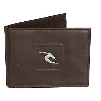 Rip Curl plånbok med CC, Observera och mynt sektioner ~ Rider alla dag brown