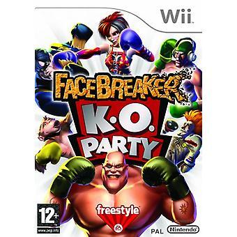 FaceBreaker K.O partij (Nintendo Wii)