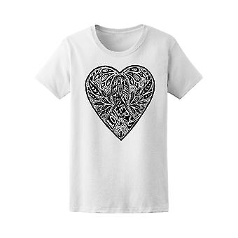 Hope Bravery Faith Love Ribbon Tee Women's -Image by Shutterstock