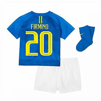 2018-2019 Brazil Away Nike Baby Kit (Firmino 20)