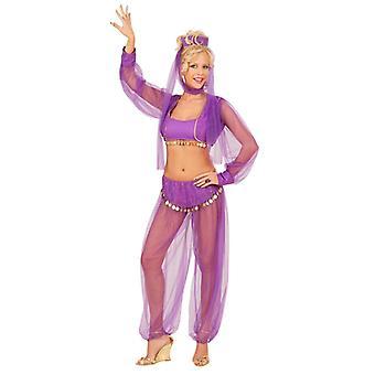 Harem Beauty Costume - Purple
